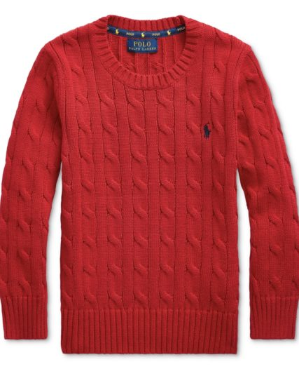 Boys knitwear-Red
