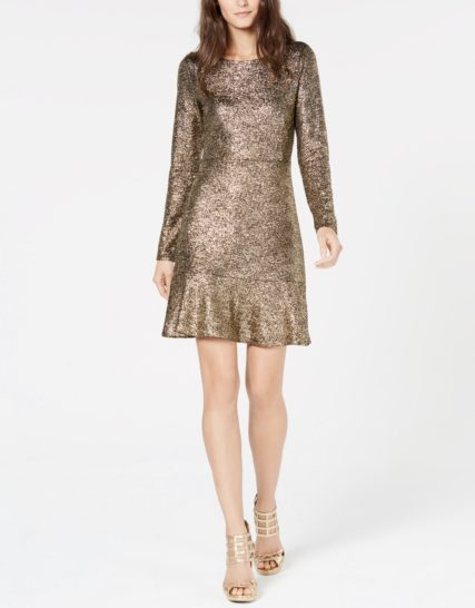 Michael Kors- gold dress