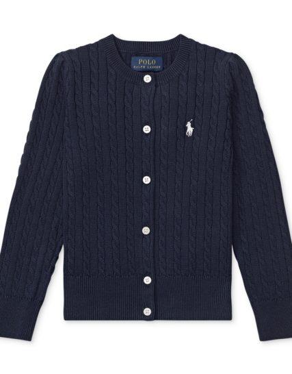 Ralph Lauren girls knit-navy
