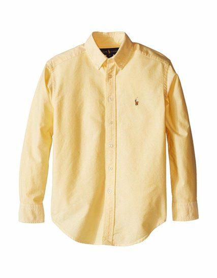 Ralph Lauren shirt- yellow