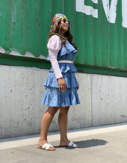 Michael Kors-denim dress