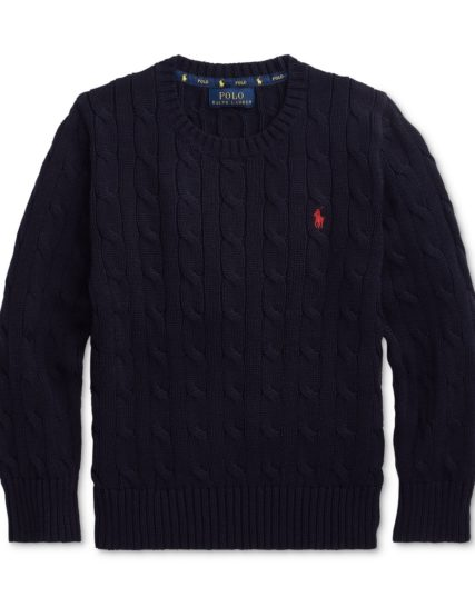Boys knitwear-navy