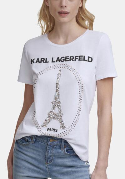 KARL LAGERFELD - טי שרט