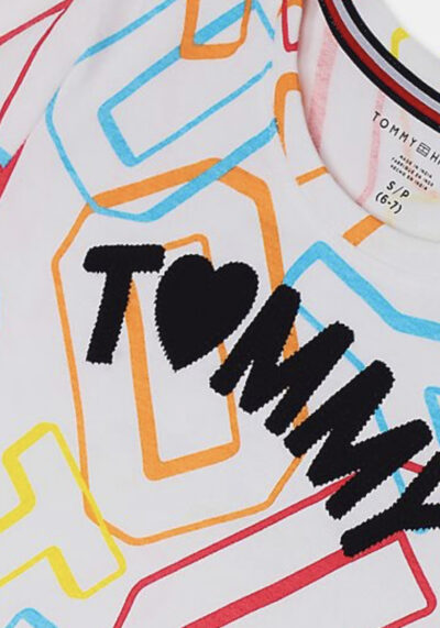 TOMMY HILFIGER - טי שרט צבעוני