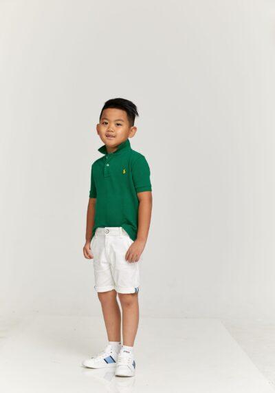 RALPH LAUREN - חולצת פולו ירוקה